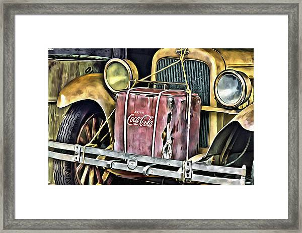 Cola Road Trip 2 Framed Print