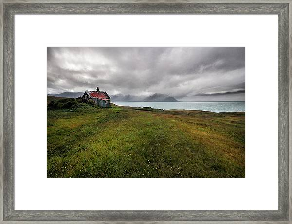 Cold And Damp Framed Print
