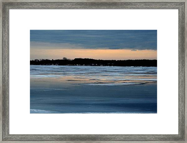 Cold Colour Wash 1 - Canada Framed Print