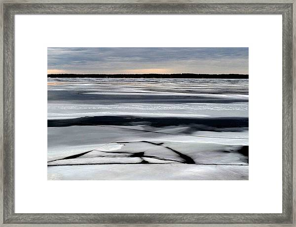 Cold Colour Wash 2 - Canada Framed Print