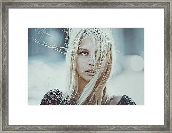 Cold Infinity Framed Print