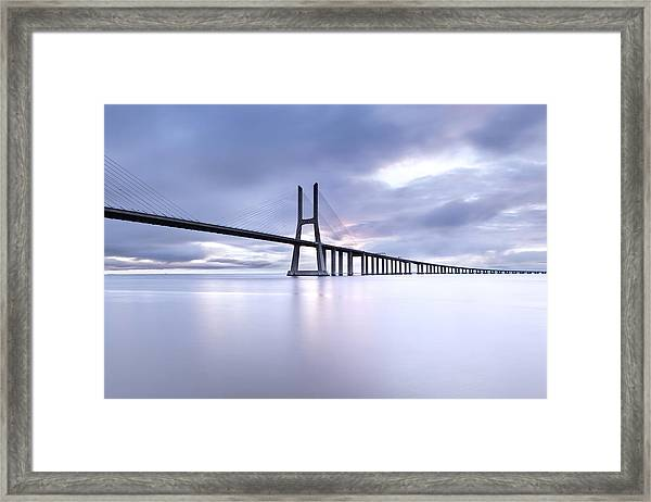 Cold Framed Print