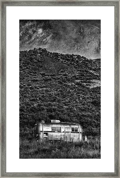 Cold Nights Under The Milky Way 1 Framed Print
