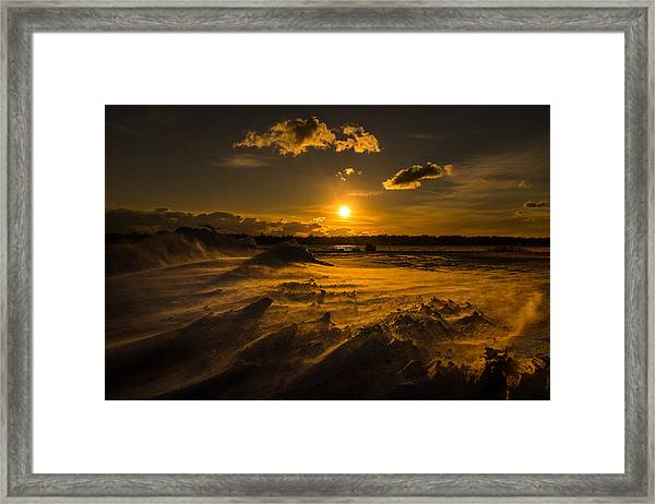 Cold Solace Framed Print