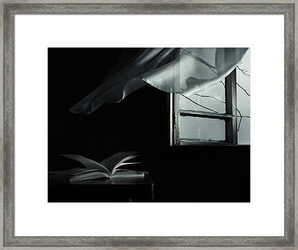 Cold Wind Framed Print