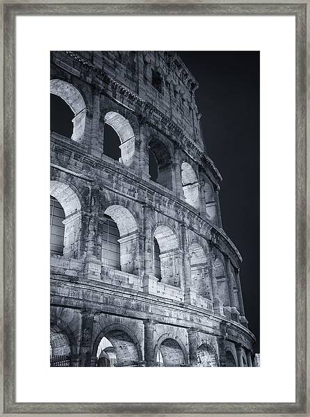 Colosseum Before Dawn Framed Print