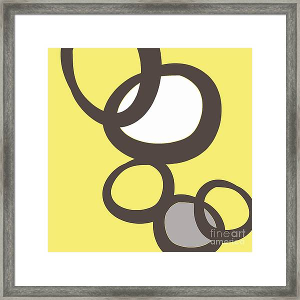 Collecting Stones Framed Print