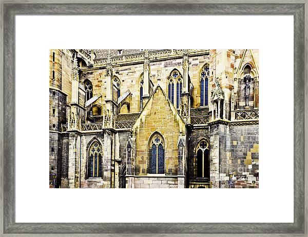 Collegiate St-martin Framed Print