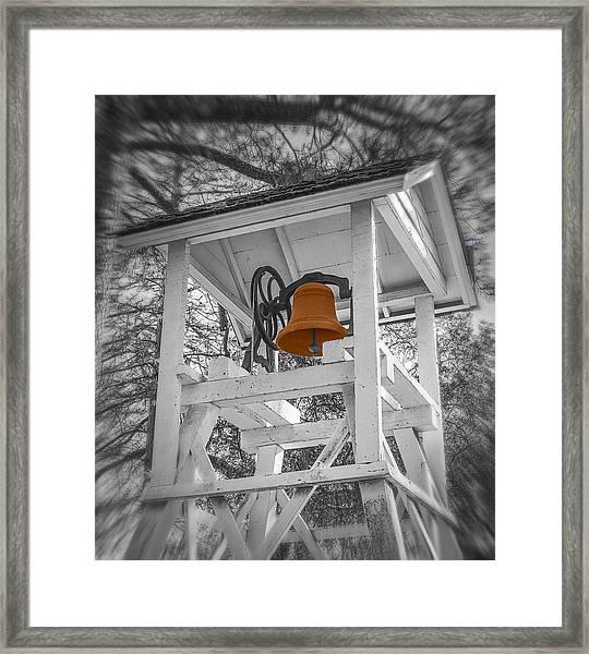 Coloma Church Bell Framed Print