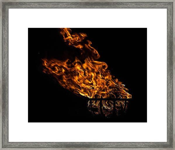 Fire Cresset Framed Print