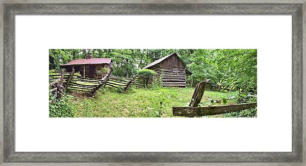 Colonial Village Framed Print