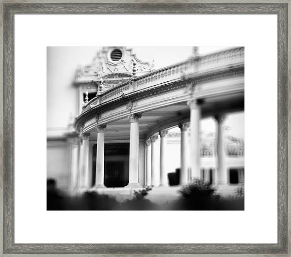 The Nature Of Spaces Framed Print