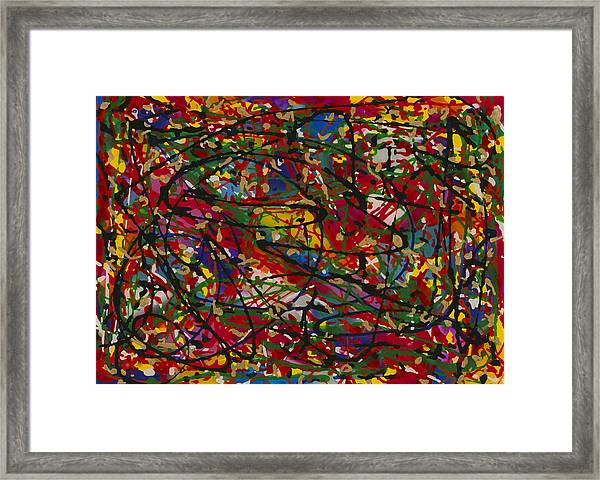 Color 1 Framed Print by Patrick OLeary