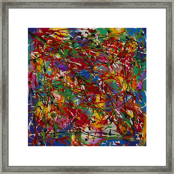 Color 2 Framed Print by Patrick OLeary