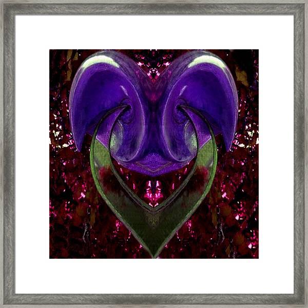 Color And Shape Framed Print