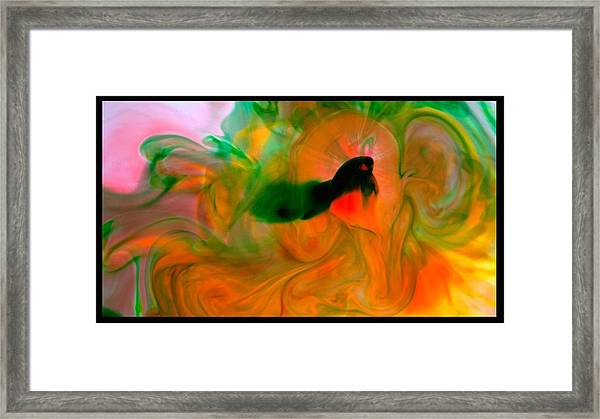 Color Formations Framed Print