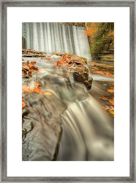 Color Of Autumn Framed Print