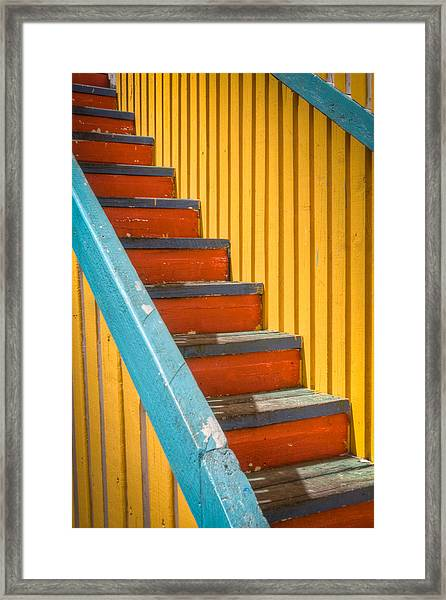 Color Of The Caribbean Framed Print
