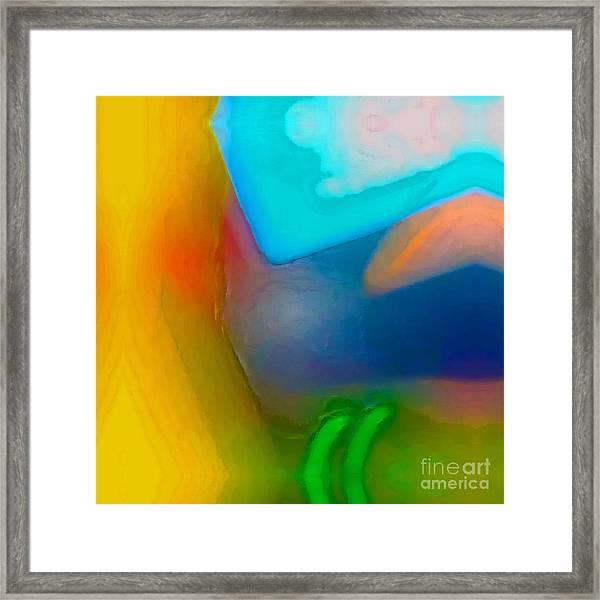 Color Shape And Form Framed Print