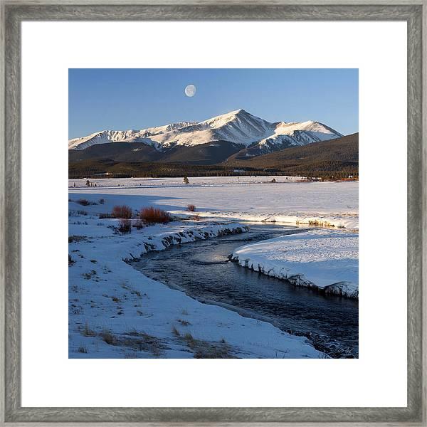 Colorado 14er Mt. Elbert Framed Print