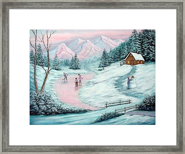Colorado Christmas Framed Print