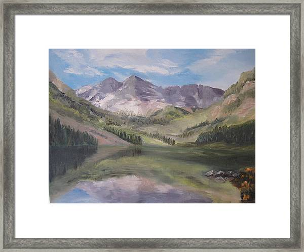 Colorado Reflections Framed Print