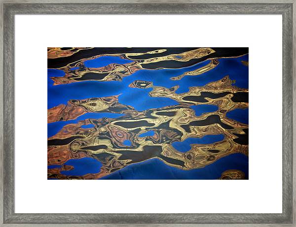 Framed Print featuring the photograph Colorado Water by Britt Runyon