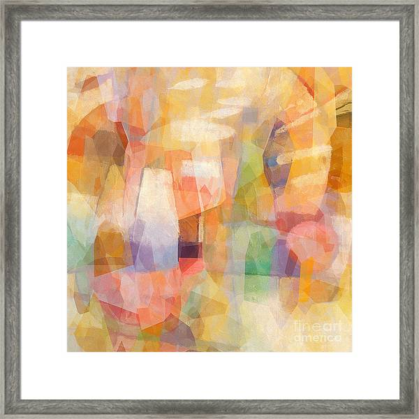 Colorbreak Framed Print