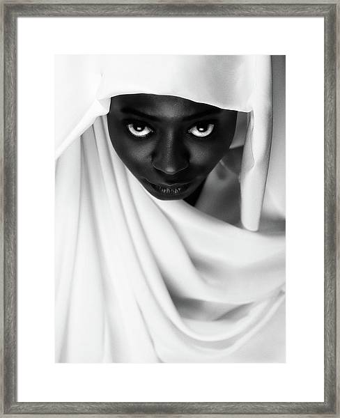 Colored Framed Print