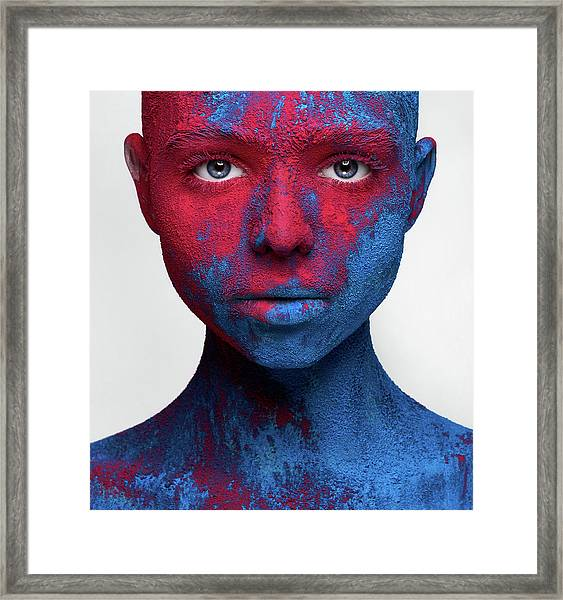 Colored Ecstasy Framed Print