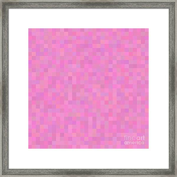 Colorful Abstract Geometric Background Framed Print