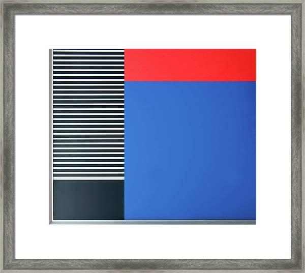 Colorful Framed Print by Henk Van Maastricht