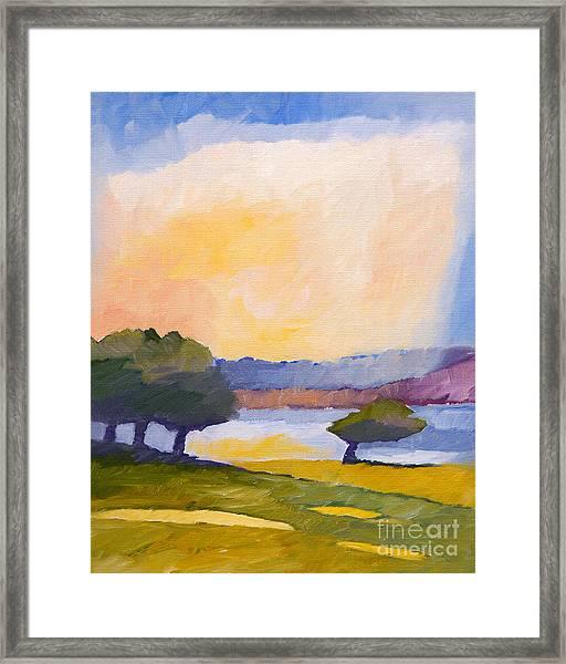Colorful Impression Framed Print