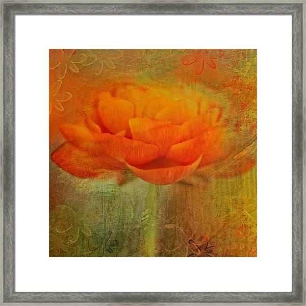 Colorful Impressions Framed Print