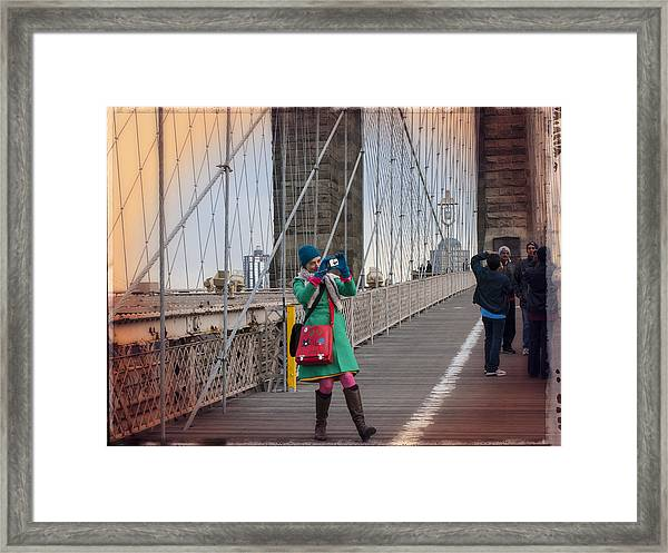 Colorful Photographer Carnival  Framed Print