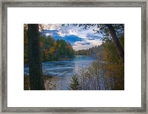 Colors At Tahquamenon Falls Framed Print