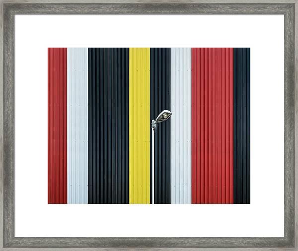 Colors. Framed Print