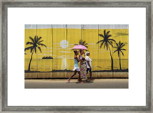 Colors In Africa Framed Print