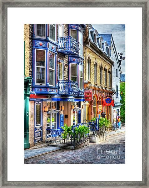 Colors Of Quebec 15 Framed Print