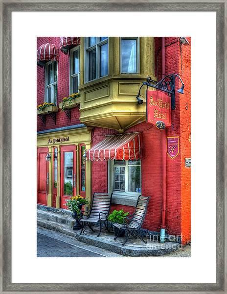 Colors Of Quebec 4 Framed Print