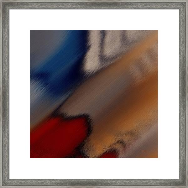 Colors Plural Framed Print