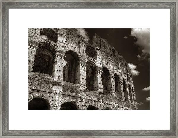 Colosseum Wall Framed Print