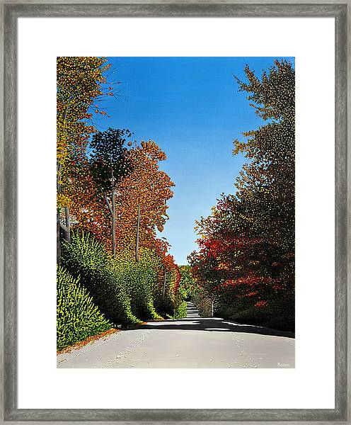 Colours Of Caledon Framed Print