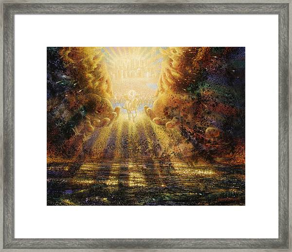 Come Lord Come Framed Print