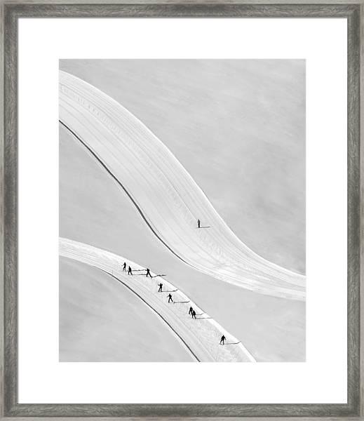 Come On Boys... Framed Print