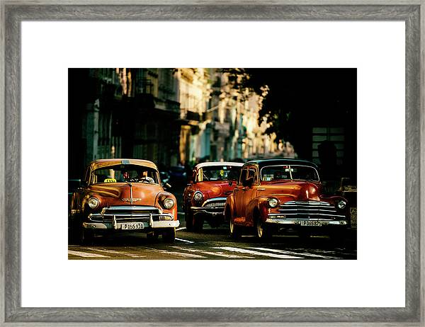 Come With Me In The Morning Light Framed Print