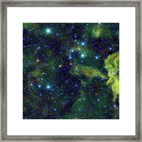 Cometary Globule Cg4 Framed Print