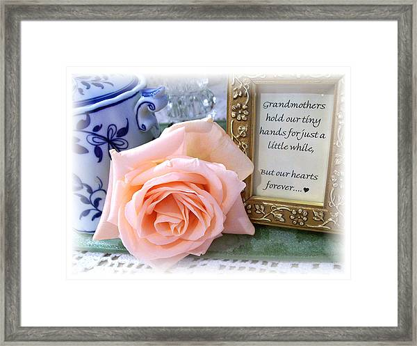 Comfort Across The Miles Framed Print