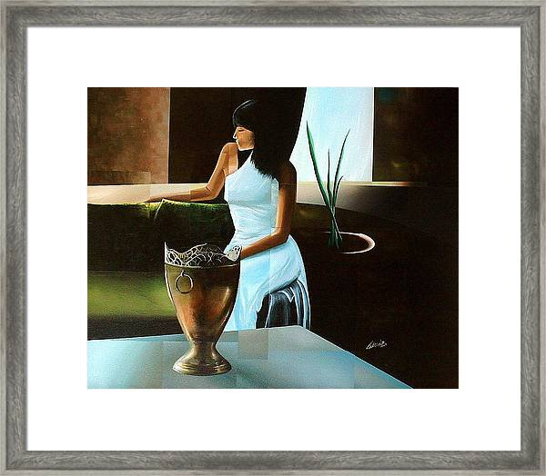 Comfort Zone Framed Print by Laurend Doumba