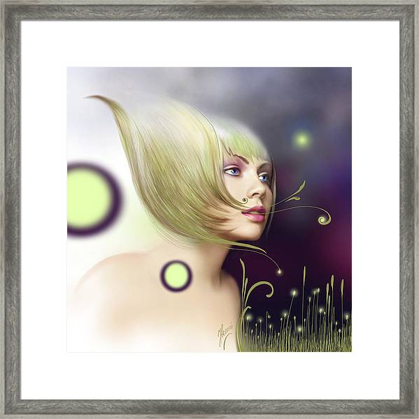 Coming Of Spring - Equinoxes Framed Print